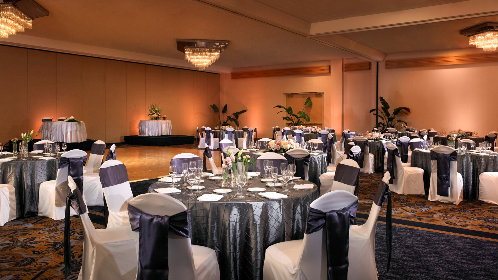 Weddings at disney parks and resorts - Park Ballroom Anaheim Wedding Venues